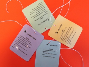 Cooperative Learning Tags - assigning students with roles for an activity.
