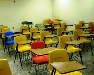 Classroom, by evmaiden